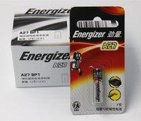 alarm remote battery - 10pcs original brand Battery V alkaline battery A27 battery car remote control alarm A