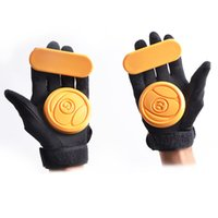 Wholesale L Freeshipping downhill skateboard brake parts fashional skateboard skating safety gear protective gloves palm Professional