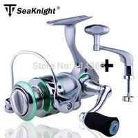 Wholesale TeBen Brand CBS Full Metal Saltwater fishing reel daiwa style spinning fishing reel BB New