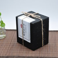 Wholesale cm High grade Black with Gold spot Thickened Corrugated box Kraft paper box gift coffee beem candy nut packing