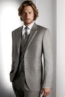 De alta calidad de los Hombres's Vestido de Boda Novio Desgaste de Novio, trajes de Prom Ropa Novio de Esmoquin NO:107