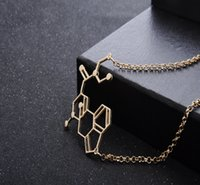 american physics - European and American popular explosion models selling geometric jewelry necklace molecular structure physics and chemistry