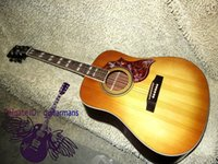 acoustic guitar neck - Guitar Factory Newest Lemon Burst One piece neck Acoustic Guitar