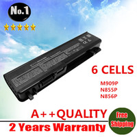 Wholesale New Laptop Battery For DELL Studio M905P M905P M909P N855P N856P U150P U164P W080P Y067P cells