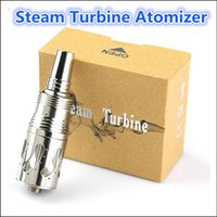 Cheap Steam Turbine Atomizer Rebuildable Clearomizer 3.0ml Vaporizer Clearomizer Ithaka Kayfun 3.1 Clone Fit For Chi You Mod King Mod Nemesis Mod