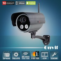 Cheap Long Range HD 2.0Megapixel 1080P Sony CMOS 25fps Onvif Outdoor Day Night Vision Color Security Wireless WIFI Network IP Camera