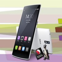Wholesale NO Plus PK OnePlus One Quad core G LTE Cell Phone Inch Screen G G ROM Voice Control Smartphone MTK6582