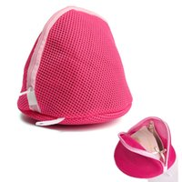 Wholesale New Women Bra Laundry Lingerie Washing Hosiery Saver Protect Aid Mesh Bag Cube Net Pouch