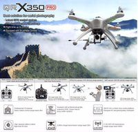 Wholesale Walkera QR X350Pro RC FPV Quadcopter GPS Drone Camera CH Brushless UFO Helicopter DEVO F7 D Gimbal ILook Camera