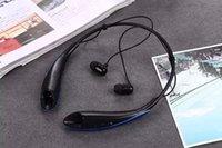 Cheap hbs800 wireless bluetooth hbs 800 bluetooth stereo headset hbs-800 sport neckband headset bluetooth wireless headset DHL FREE SHIPPING