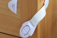 Wholesale Holesale cm Child Baby Care Safety Security Cabinet Lock For Cabinet Drawer Wardrobe Doors Fridge Toilet