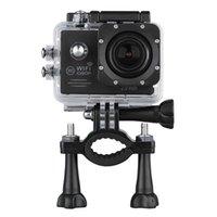 Wholesale 2 MP HD P H WiFi Anti shake Full HD DV Sport Camera M Waterproof Tachograph AV out Motion Detection Function