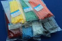 Wholesale Nylon cable ties GB A grade plastic color tie tied with X150