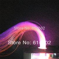 Wholesale mm fiber with spark Length m per roll Optic Fiber Lights