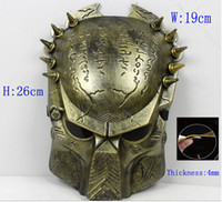 Wholesale horror Paintball Mask avpr lone Wolf Iron Airsoft BB Gun and Army airsoft mascara scary mask