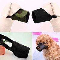 Wholesale New Arrivals Dog Muzzle Masks Pet Supplies No Bite Adjustable Nylon Colors Size MB1