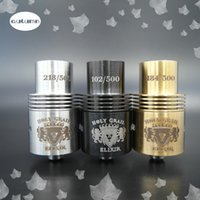 adjustable air shock - Holy Grial Rebuildable Atomizer Air flow adjustable MM Thread Rda Tanks Atomizer In Shock