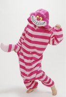 adult sleepsuit - Winter Sleepsuit Adults Cartoon Cheshire Cat Onesies Unisex Onesies Pajamas Cosplay Costumes Adult Garment Cartoon Jumpsuits Unisex