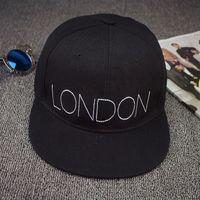 basebll hat - 2015 brand london embroidery bone snapback hiphop basebll cap ladies casual casquette adjuatable hat for women men sun flat hat