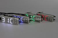 alarm clock parts - 4 Bits Electronic clock production suite LED electronic clock DIY kit SCM LED digital clock parts