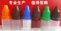 Wholesale E Cig Plastic Dropper Bottle With Childproof Cap And Long Thin Tip Empty Bottle ml E liquid Bottles