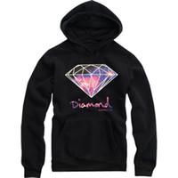 Wholesale Diamond Supply Hoodies Hoody Sudadera Hombre Men And Women Couple Cotton Round O Neck Diamond Hip Hop Hoodie Jacket Coat