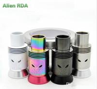 Alien RDA Date 2015 reconstructible Dripping Atomiseur pour e Cigarette Grand Vapor Top qualité pour 18650 Machanical Mod VS YEP V1 Mutation X V4