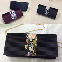 Wholesale designer Embroidered Evening Bags High Quality Fashion bag bags handbags women famous brands