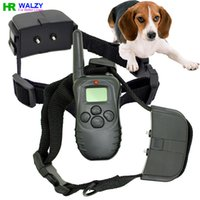 anti level control - 100 Level M Battery Electronic Dog Collar Remote Control Anti Bark Dog Shock Training Collar With LCD Display D