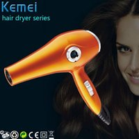 Wholesale Hair Care Kemei V LED Display Professional Hair Dryer Cold Hot Air Adjustable Salon Household Hair Styling Tool