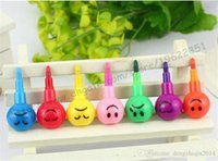 Wholesale Stationery Colorful WaterColor Brush Smiley Cartoon Pens Pencil Markers Children s Toys Gifts Watercolor pen colors