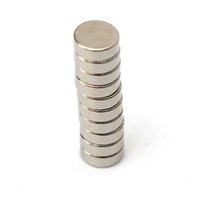 Wholesale 100Pcs Strong Small Disc Fridge Magnets x mm Round Rare Earth Neodymium N50 Best Promotion