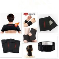 Wholesale Tourmaline self heating pad Magnetic Therapy neck shoulder elbow wrist waist knee ankle brace support pad