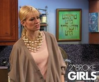 Wholesale TV Drama Broke Girls Caroline With Big Pearl Necklace Multi Layer Chain Costly Pearl Necklace HOT SALES