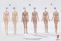 abs scale - VERYCOOL Scale Female Body Upgrade Version Large Medium Bust Colors Collectible Nude Action Figure Doll Toys