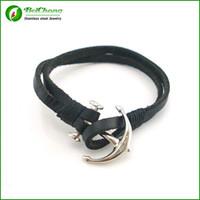 bc fishing - BC Miansai Nautic bracelets leather Fish Hook Bracelets for Men Women Sea hook Nautical bracelets bangles Paracord pulsera BC