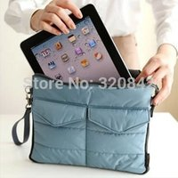 Wholesale Organizer For IPad Tablet PC Bag Clutches Inner handBag Organizer Hangbag Insert storage bag Case Accessories Finishing Bag