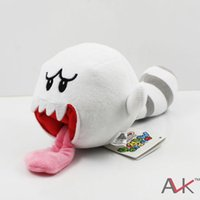 mario land - 1pcs Super Mario Bros D Land Plush Tanooki Tail Boo Ghost Soft Toy Stuffed Animal quot
