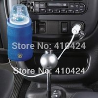 Wholesale Car socket electronic heating milk bottle The v socket uniform heater Heating Machine order lt no track