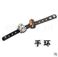 Wholesale 300pcs LJJC2877 New Arrival Cartoon Star Wars Wristband Black Knight Darth Vader Yoda Decorative Bracelet Adjustable Kids Silicone Wristband