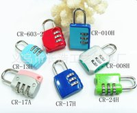 Wholesale Production exported to Europe and Japan and South Korea travel portable mini lock diary lock manufacturers from the sale CR H