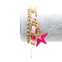animal crossing world - 2016 Korean Personalized bangle bracelet Alloy Material Designer Mermaid fish cage anchor Fashion Wear Colorful world trend bracelet YZT