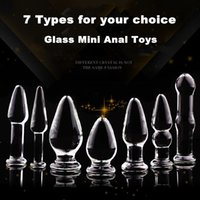 Cheap 20151205 HOT classic pyrex glass anal butt plug beads Crystal dildo Adult male female masturbation products Sex toys for women men gay