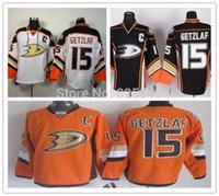 Unisex best cheap jerseys from china - Cheap Anaheim Ducks Jersey Ryan Getzlaf Men s Throwback Ice Hockey Jersey Best Quality Low Price Size M XXXL From China