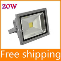 Wholesale Waterproof W Warm Cool White LED Flood light High Power Outdoor lighting Spotlights Lamp with tracking number