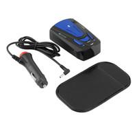 Wholesale New Car Anti Police Radar Detector Voice Alert Laser V7 LED Blue YKS
