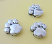 Wholesale 10mm Smooth feet slide charms zinc alloy fit mm belt pet dog cat collars