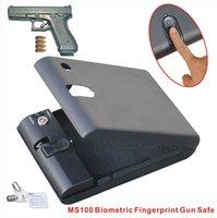 Wholesale MS100 Micro Vault Biometric Fingerprint Safe Lock Box with key