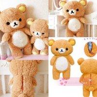 Wholesale Plus Teddy Bear Cute Gifts toys Rilakkuma Relax Bear Plush Doll Stuffed Toy Teddy Bear Stuffed Plush Toy Stuffed Kawaii Gift San x Soft