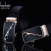 Wholesale Luxury designer belts men high quality business casual leather belts automatic buckle cowhide genuine leather belts SKU B050